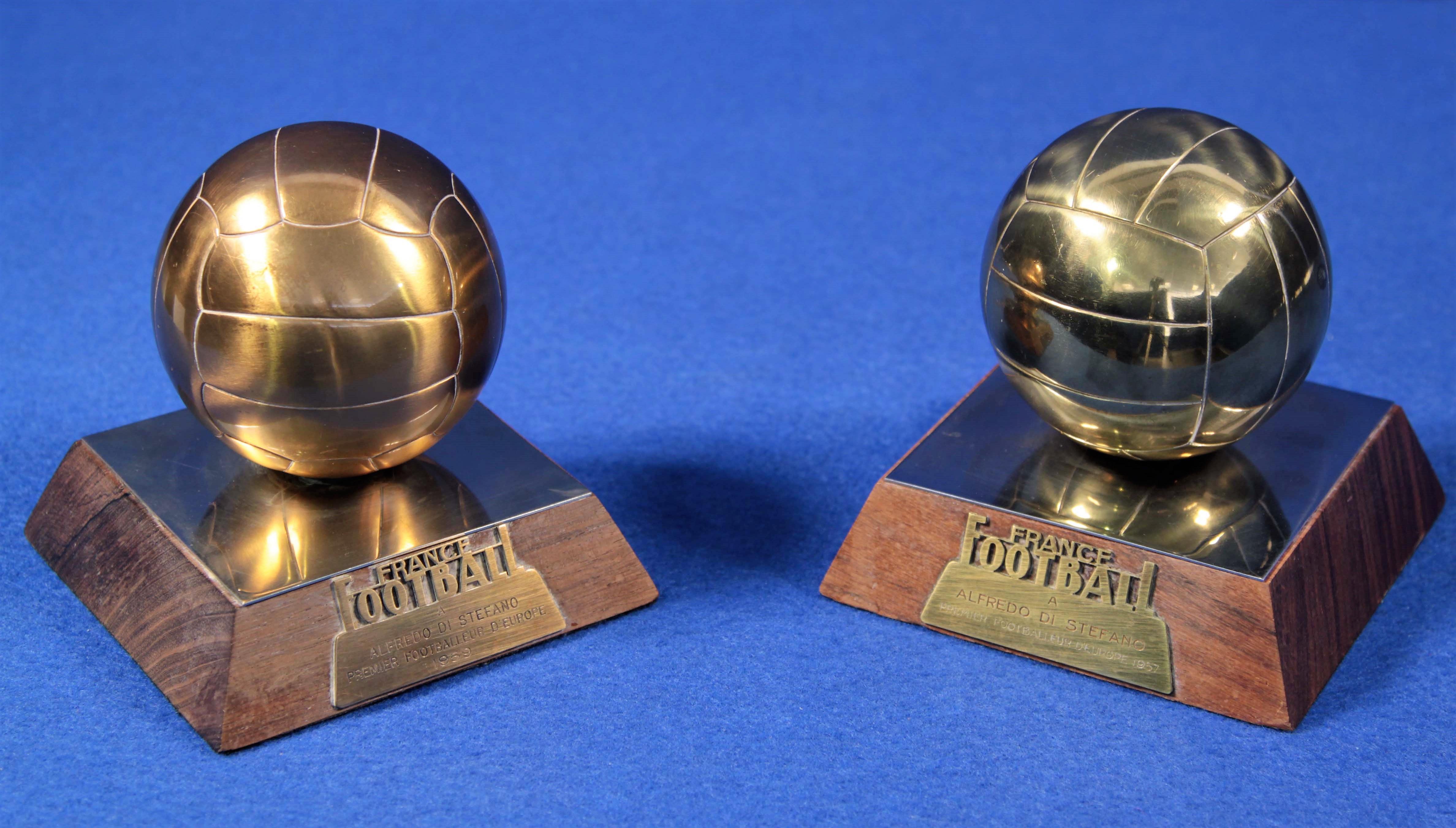 Balones de oro. France Football a Alfredo Di Stéfano.